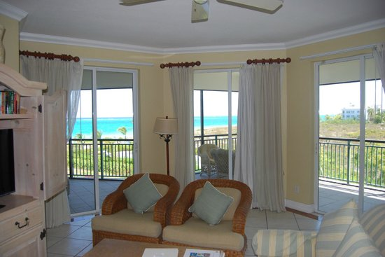 The Sands at Grace Bay: Living Area