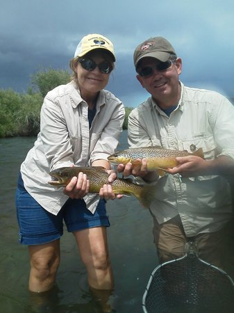 FishTales Outfitting - Day Trips: Happy Wife.... Happy Life!