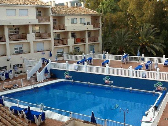 Club Marbella/Regency Palms Crown Resort : Outdoor Pool and sunbathing area