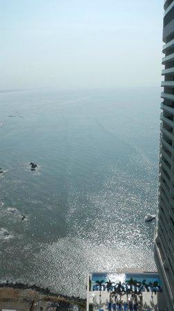 Trump International Hotel & Tower Panama: Vista da sacada suite corner
