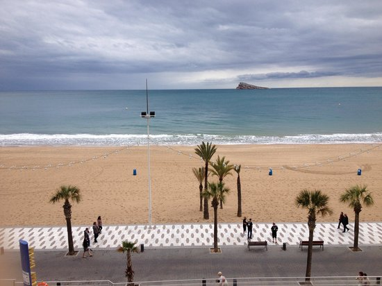 Hotel Cimbel: The weather was poor but this is the view from the 3rd floor