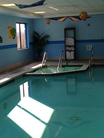 Wingate by Wyndham York: Indoor Heated Swimming Pool / Whirlpool