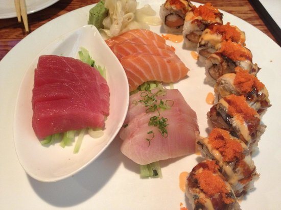 Koi Sushi Bar and Asian Cuisine: Sushi Plate at Koi