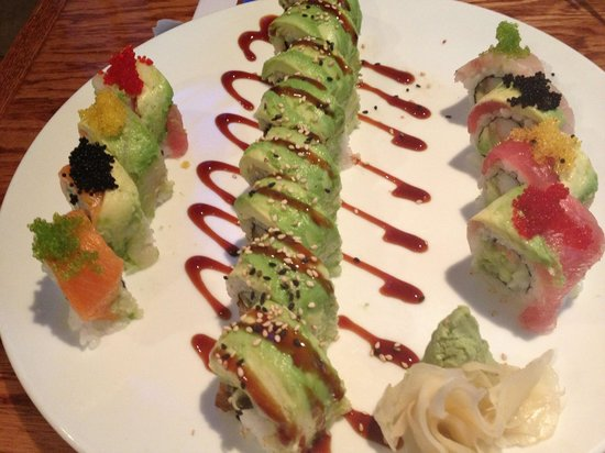 Koi Sushi Bar and Asian Cuisine: Creative Sushi Rolls