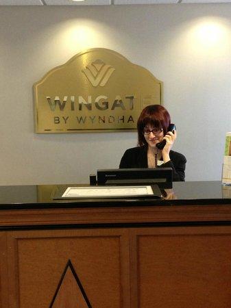 Wingate by Wyndham York: Friendly Customer Service