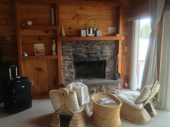 The Kaaterskill: Fire place in the room