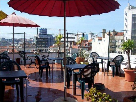 Hotel Residencial Caravela: Terraço