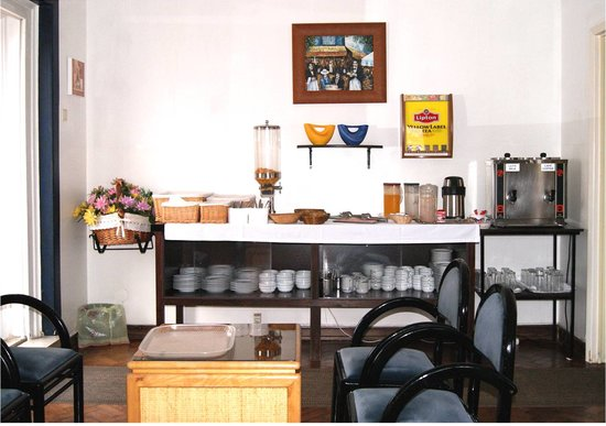 Hotel Residencial Caravela: Sala de pequeno-almoço