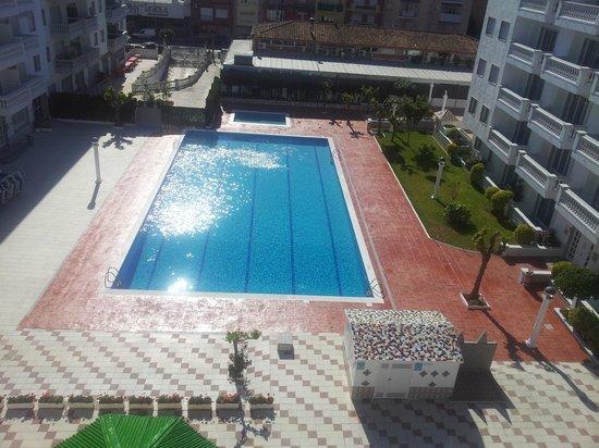 Apartamentos Europa: Balcony View