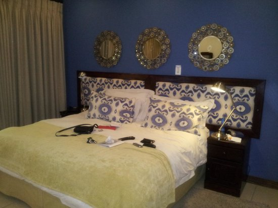 Rivonia Bed & Breakfast: the bed is so comfortable