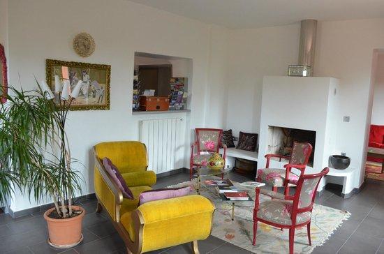 Bastide Valmasque : Salotto da coversazioe
