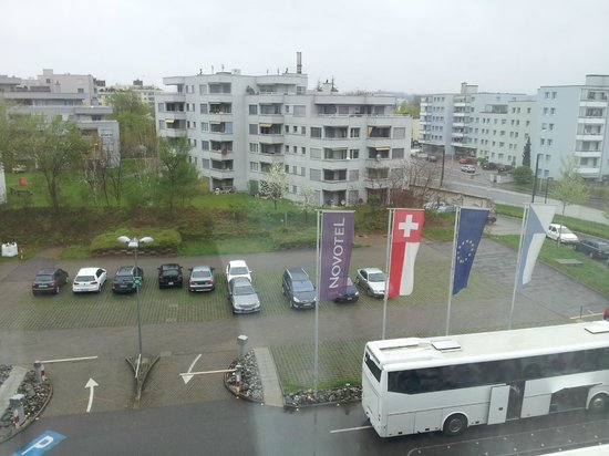 Novotel Zurich Airport Messe: View from room at 5th floor
