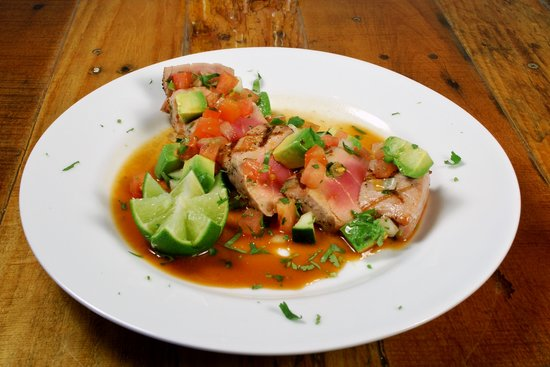 Taqueria del Mar: Grilled Ahi Tuna