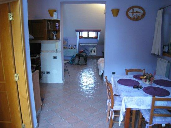 Tetto Fiorito : Entrée salle à manger