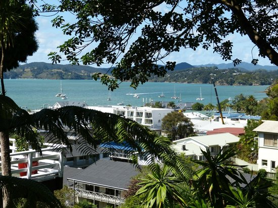 Marlin House Bed & Breakfast: Paihia and Bay of Islands from Marlin House