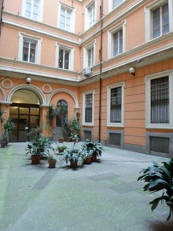 InternoRoma: Один из внутренних двориков