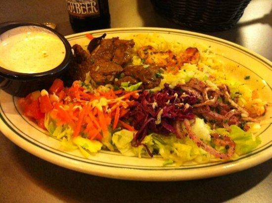 Real Doner: Lamb Kebab Plate