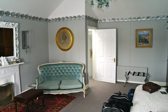The Quay House: Our top floor bedroom