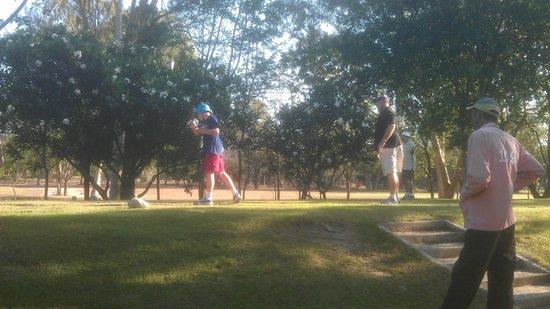 Royal Hua Hin Golf Club: Teeing off on the 4th
