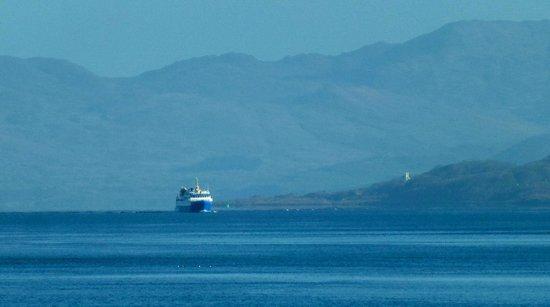 The Glenforsa Hotel Mull: A CalMac vessel in the Sound of Mull