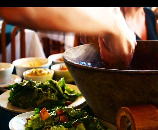 The Galleon : Table-side Caesar Salad