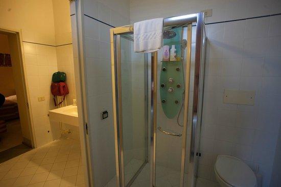 Villa Sabolini Hotel: il bagno