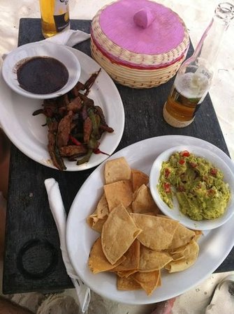 Om Tulum Hotel Cabanas and Beach Club: Un tapeo