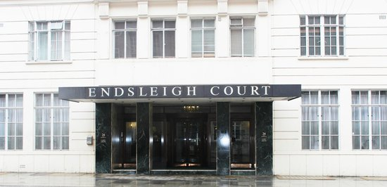 Endsleigh Court: Entrance