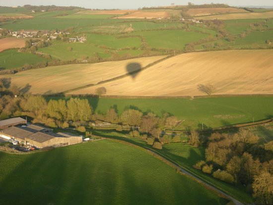 Virgin Balloon Flights: Flying over Bath