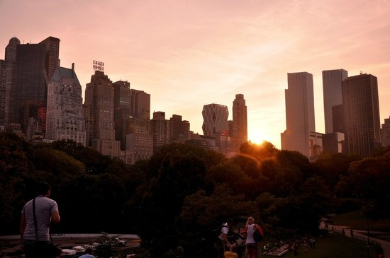 Central Park Sunset Tours: Central Park at Sunset