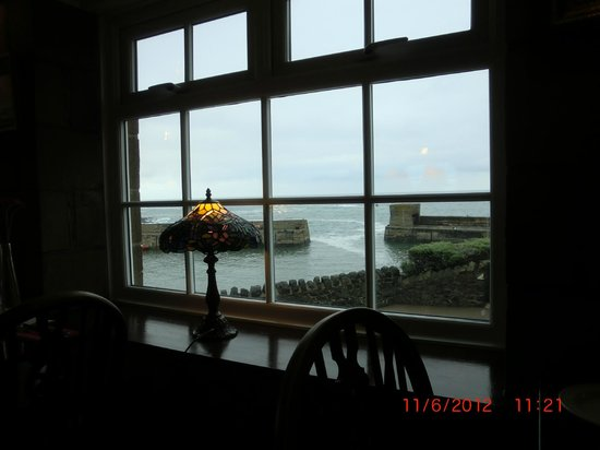 The Craster Seafood Restaurant: Vue du restaurant