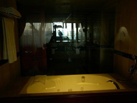Luxury Bahia Principe Cayo Levantado Don Pablo Collection: vista del baño en la habitacion Junior Suite. Villa 4