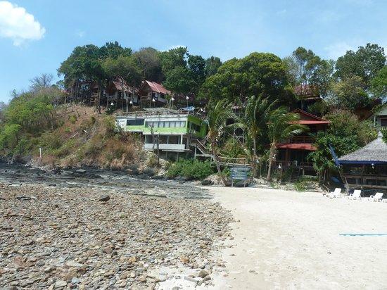 Lanta Marine Park View Resort: vue de la plage