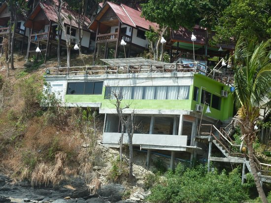 Lanta Marine Park View Resort : Zoom sur le bunker
