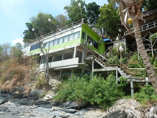Lanta Marine Park View Resort: Le bunker en construction quelle horreur