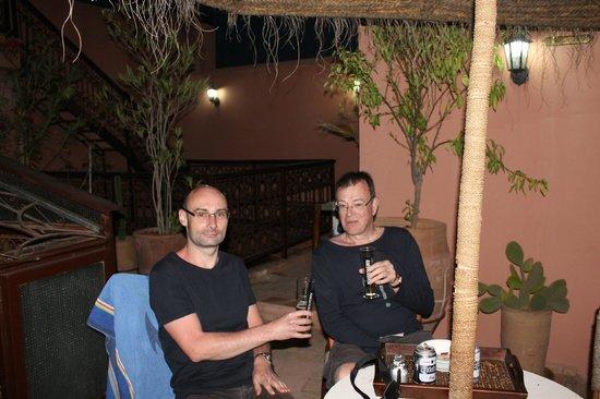 Riad Souad : la terrasse /bar