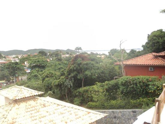 Azeda Boutique Hotel: Vista da varanda do meu quarto - suite jardim