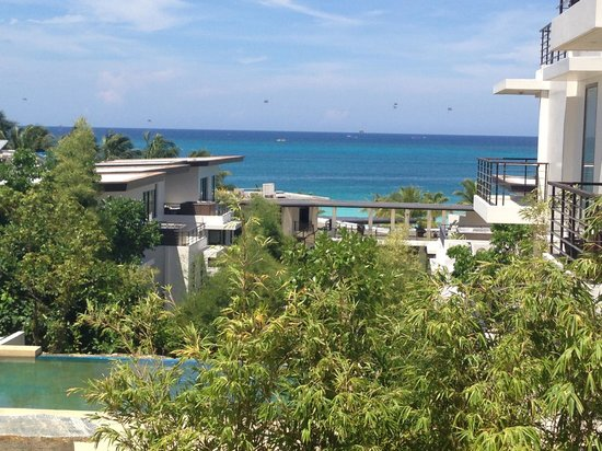 Discovery Shores Boracay: View from Junior Suite
