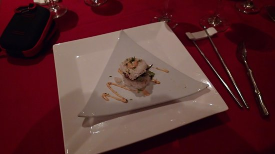 Secrets Capri Riviera Cancun: Great appetizer at the japanese