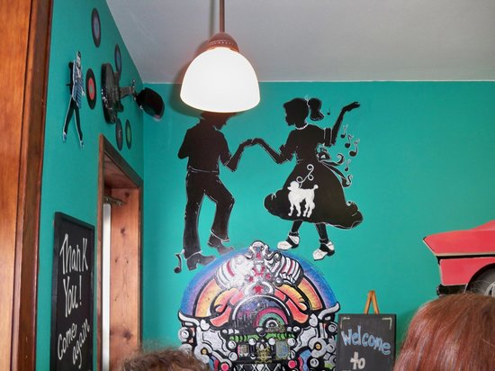 50s wall decor - Picture of Ecky\'s, Osage - TripAdvisor