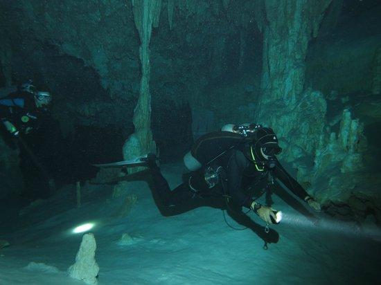 Luum ha Divers: cenotes