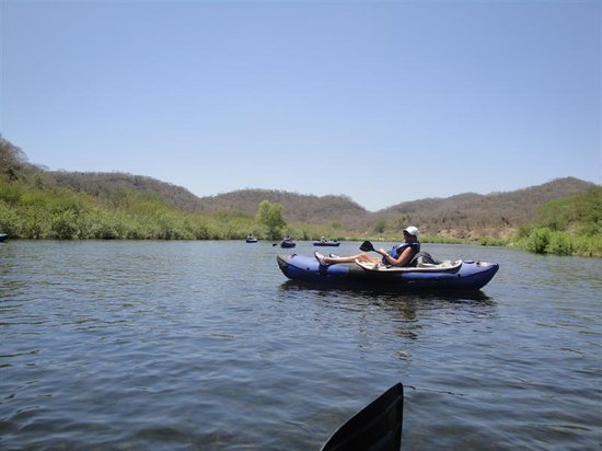 Torres Mazatlan Resort: Kayaking down the river