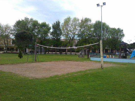 Duna Rossa Residence: Campo da Beach volley