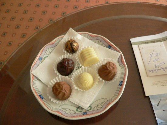 Hotel Paris Prague : A little welcome surprise