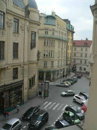 Hotel Paris Prague : View from the room