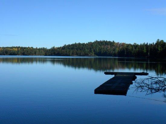 Hotel Sacacomie: Lago Sacacomie
