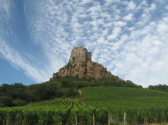 Rock of Solutré: roche de Solutre