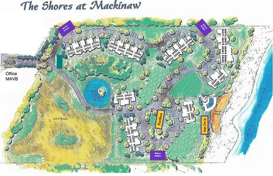 The Shores At Mackinaw : Property Map