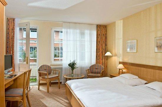 Spiekeroog, Alemania: Doppelzimmer