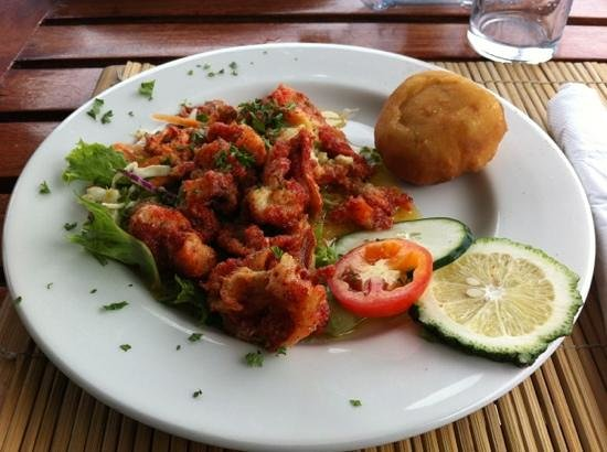BB's Crabback: Conch with bake, my favourite!